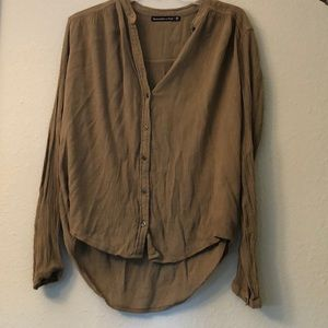 Abercrombie Long sleeve Blouse